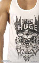 Never Too HUGE tank-top White