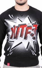 """WTF?!"" Sweatshirt - Black"