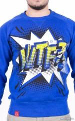 """WTF?!"" Sweatshirt - Royal"